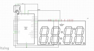 Schematic for the Arduino