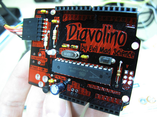 Evil Mad Scientist's 'Diavolino' Clone