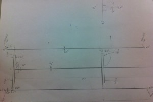 Mechanical Drawing of Base