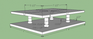 refrigerator pad mechanical drawing